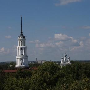 Колокольня Воскресенского собора, Россия, Шуя