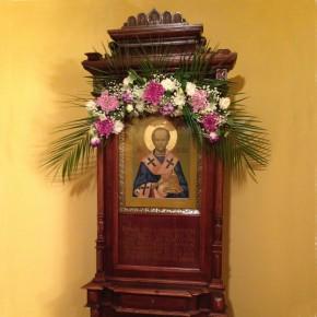 Празднование дня памяти святителя Павлина епископа Ноланского в Московской Школе Звонарей