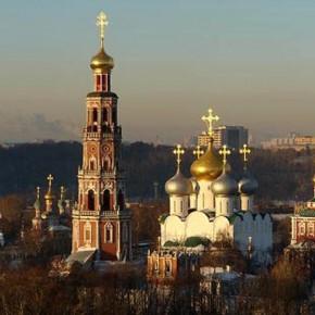 Звон Новодевичьего монастыря. Машков Владимир Иванович